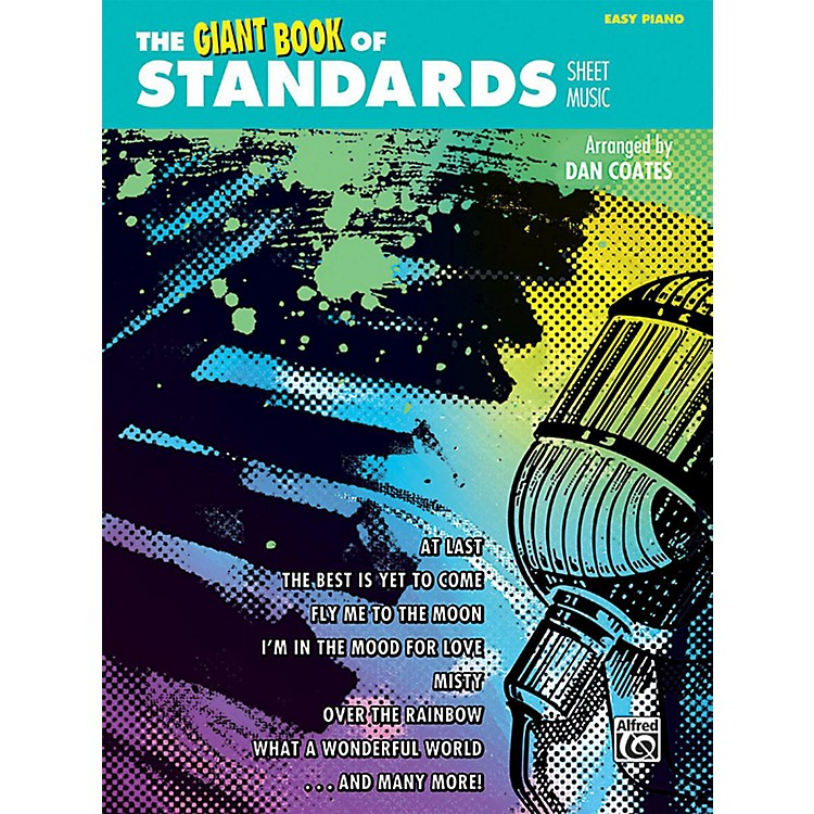 AlfredThe Giant Book of Standards Sheet Music Easy Piano Book
