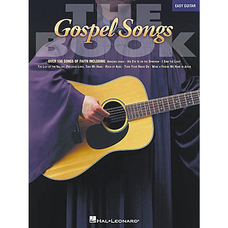 Hal LeonardThe Gospel Songs Easy Guitar Songbook