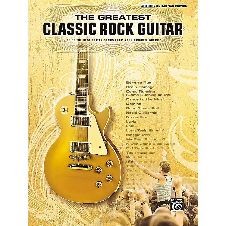 Hal Leonard The Greatest Classic Rock Guitar Book