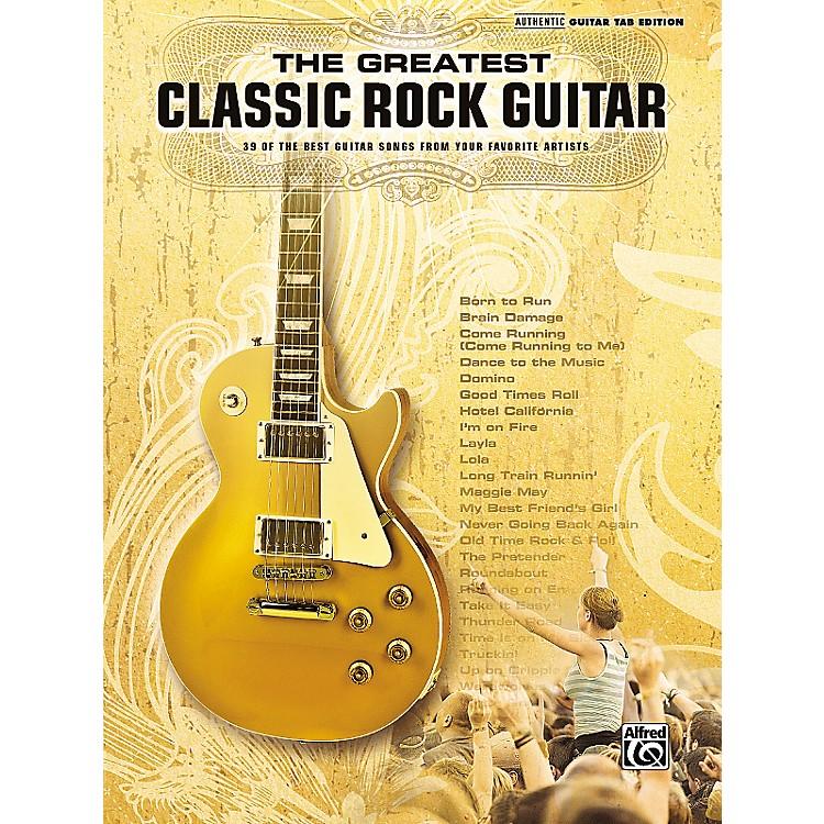 Hal LeonardThe Greatest Classic Rock Guitar Book