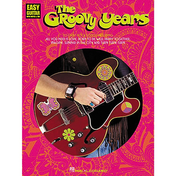 Hal Leonard The Groovy Years Easy Guitar Tab Songbook