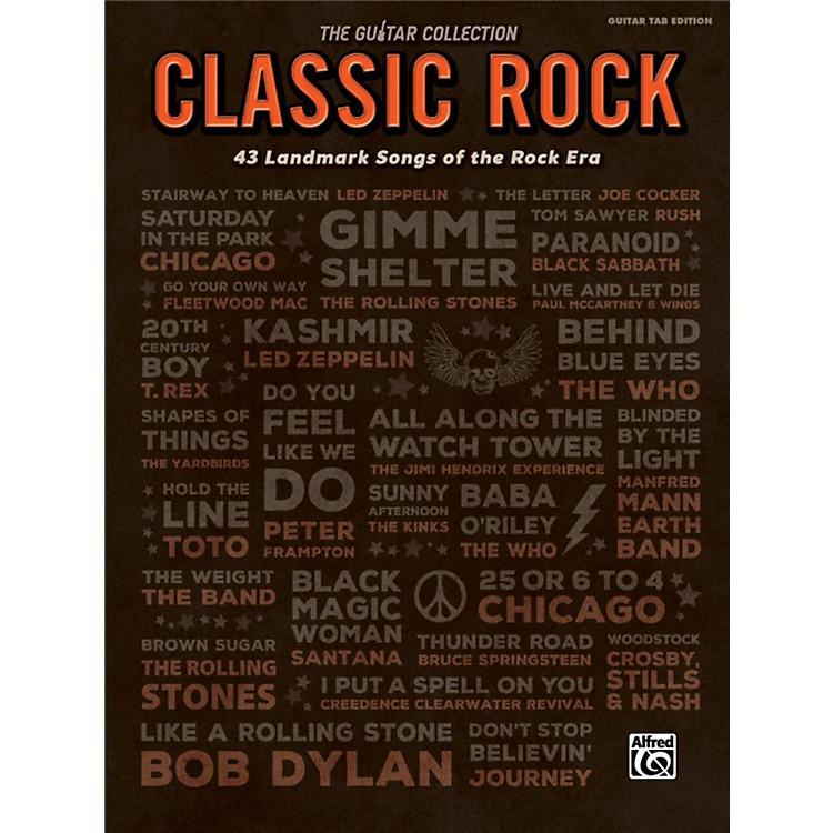 AlfredThe Guitar Collection: Classic Rock 43 Landmark Songs of the Rock Era TAB Book