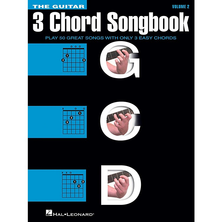 Hal Leonard The Guitar Three Chord Songbook Volume 2  G-C-D