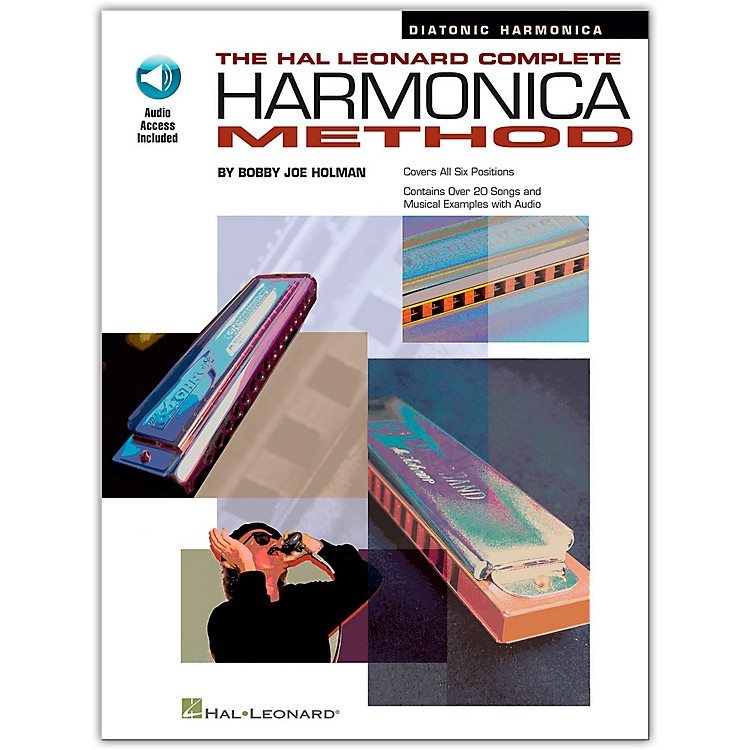 Hal Leonard The Hal Leonard Complete Harmonica Method Book/CD Diatonic Harmonica
