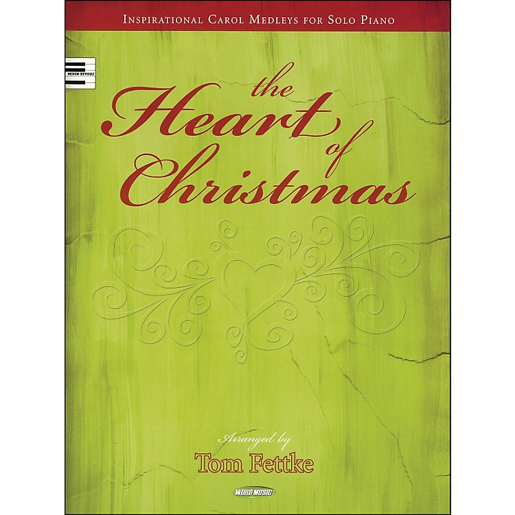 Word Music The Heart Of Christmas arranged for solo piano