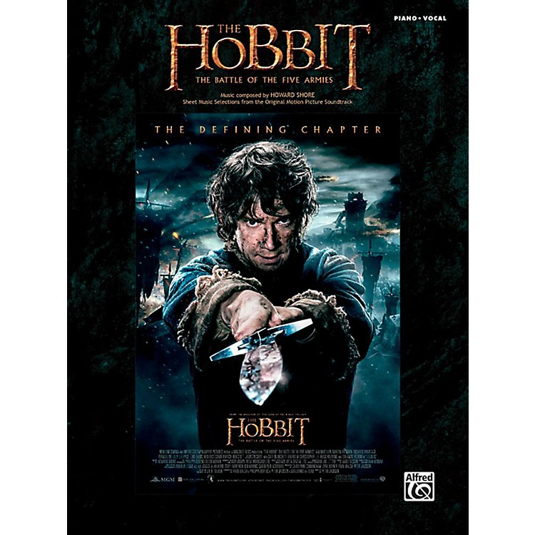 AlfredThe Hobbit: The Battle of the Five Armies - Piano/Vocal Songbook