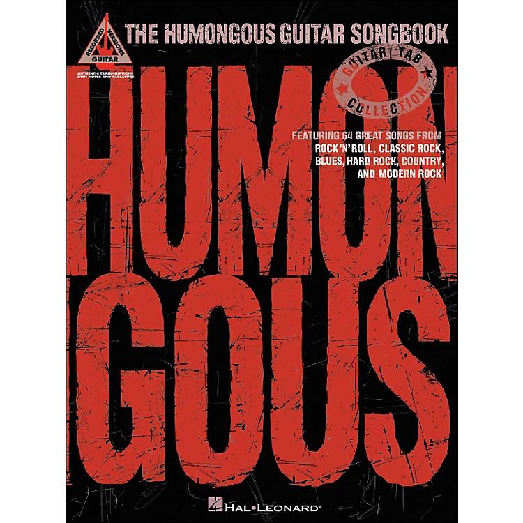Hal LeonardThe Humongous Guitar Songbook Tab Book