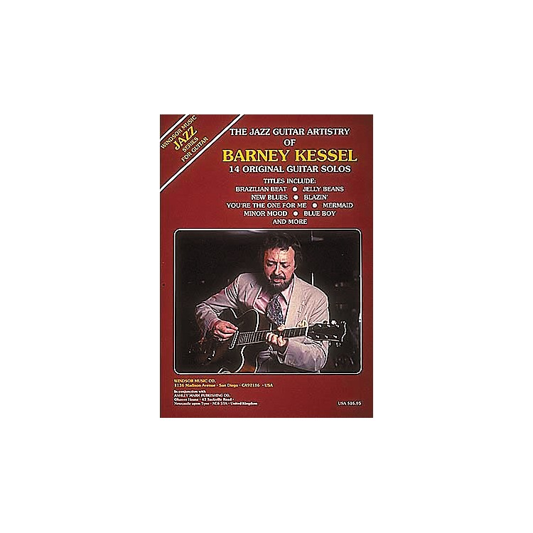 Ashley Mark The Jazz Guitar Artistry of Barney Kessel Tab Songbook