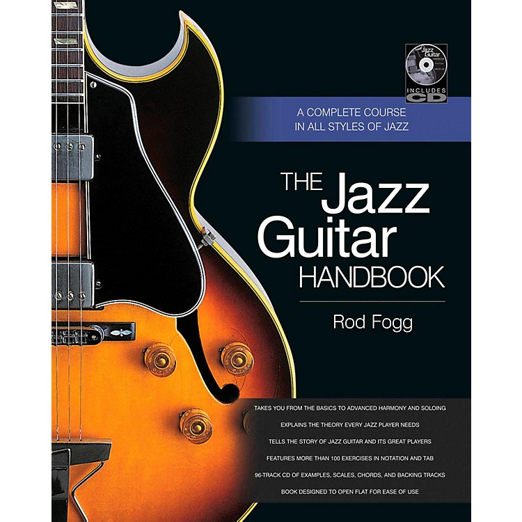 Backbeat BooksThe Jazz Guitar Handbook:  A Complete Course in All Styles of Jazz