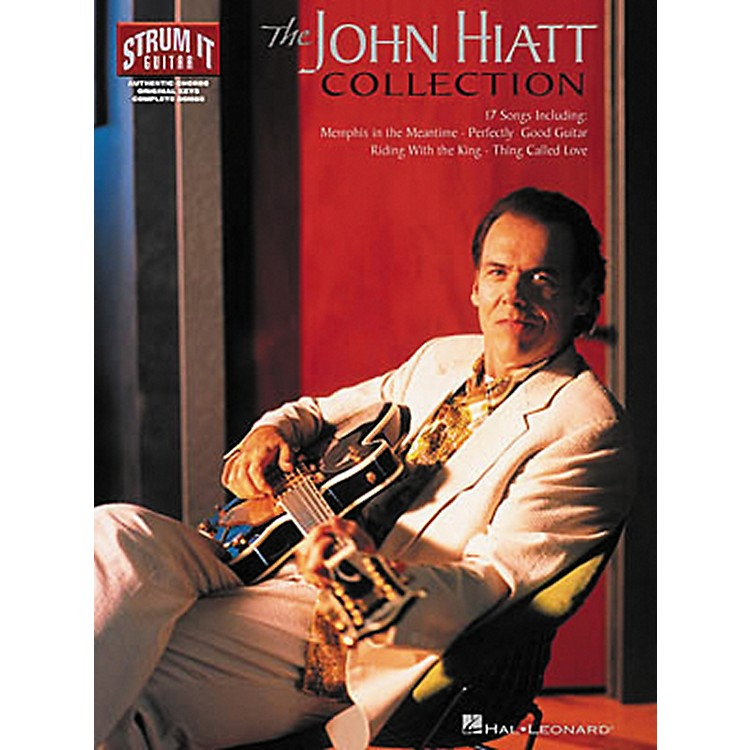 Hal LeonardThe John Hiatt Collection Guitar Songbook