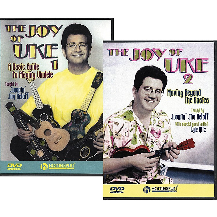 Homespun The Joy of Uke - Volume 1 and 2 (DVD)