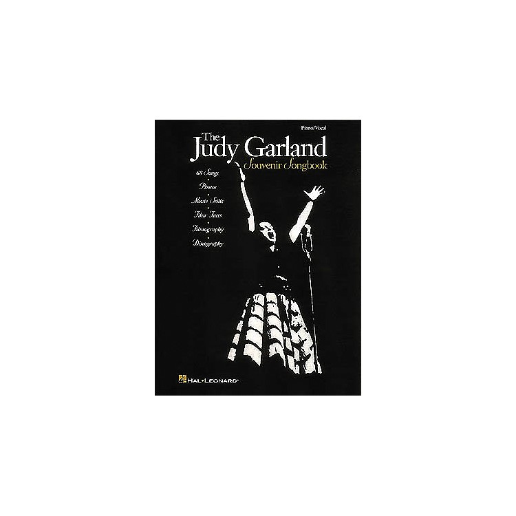 Hal Leonard The Judy Garland Souvenir Piano, Vocal, Guitar Songbook