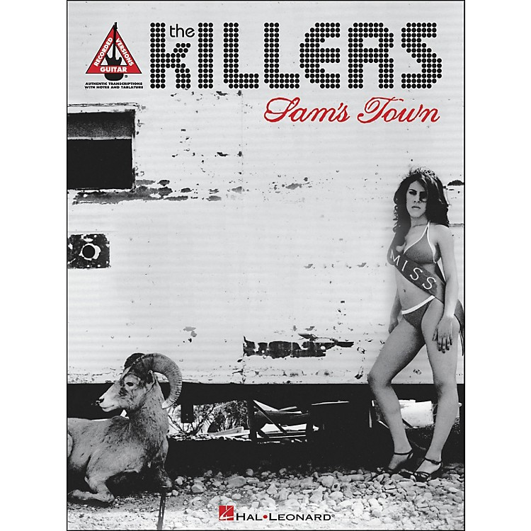 Hal Leonard The Killers - Sam's Town Tab Book
