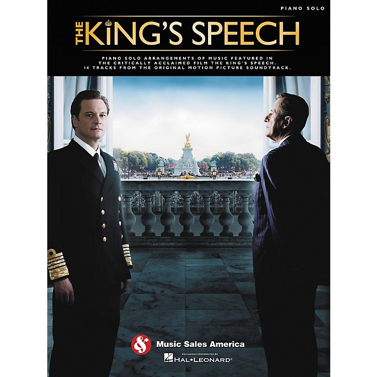 Music Sales The King's Speech - Music From The Motion Picture Soundtrack Piano Solo