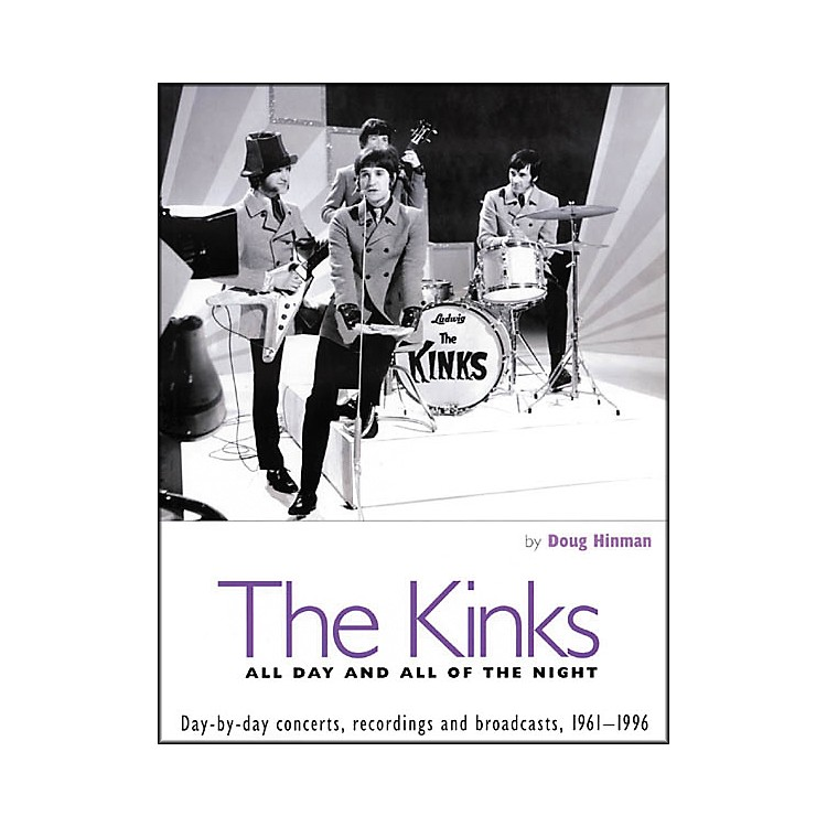 Backbeat Books The Kinks - All Day and All of the Night Book