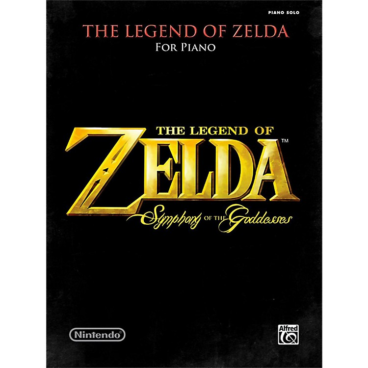 Alfred The Legend of Zelda Symphony the Goddesses Late Intermediate Early Advanced Piano Solos Songbook