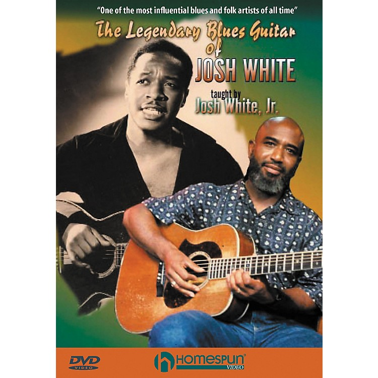 Homespun The Legendary Blues Guitar Of Josh White (DVD)