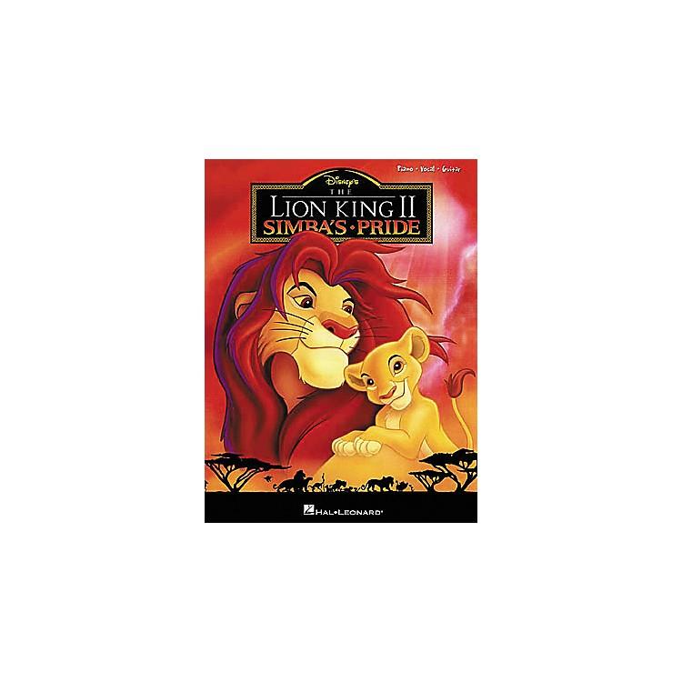 Hal LeonardThe Lion King II Piano, Vocal, Guitar Songbook
