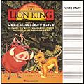 Hal Leonard The Lion King Music Manuscript Paper