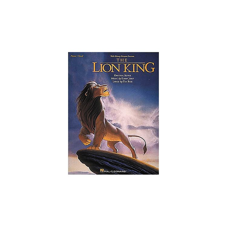 Hal LeonardThe Lion King Piano, Vocal, Guitar Songbook