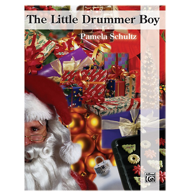 Alfred The Little Drummer Boy Big Note Piano