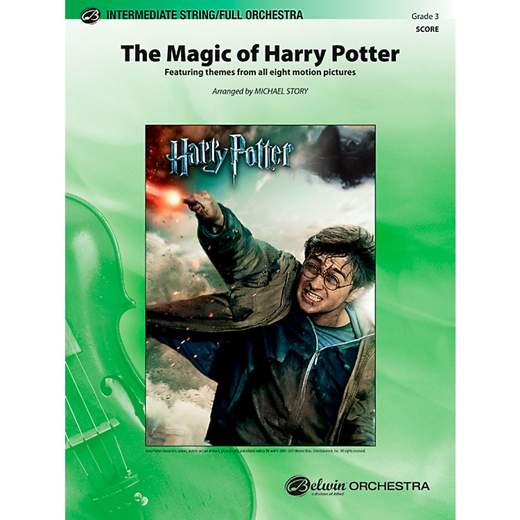 AlfredThe Magic of Harry Potter Full Orchestra Grade 3 Set