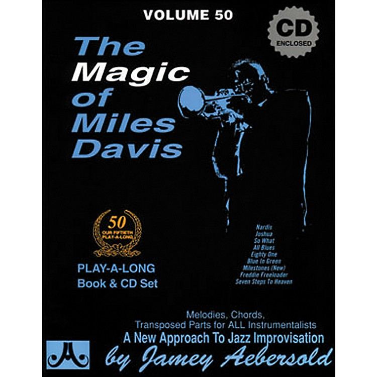 Jamey Aebersold The Magic of Miles Davis Play-Along Book and CD
