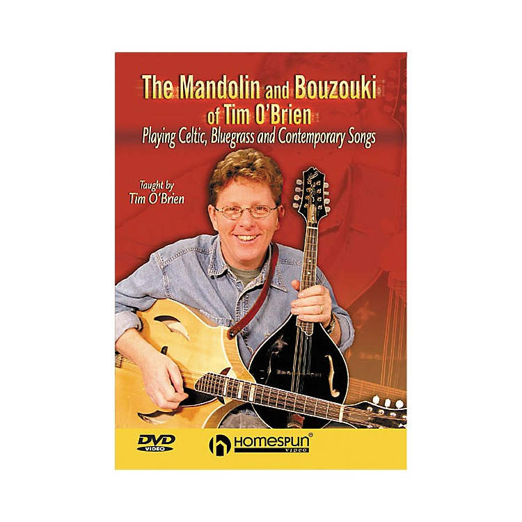HomespunThe Mandolin and Bouzouki of Tim O'Brien (DVD)