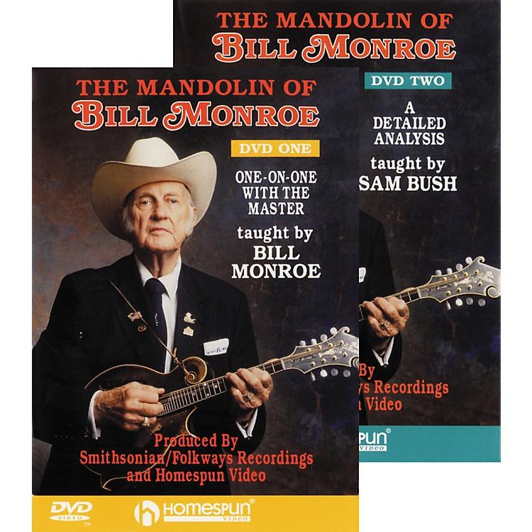 HomespunThe Mandolin of Bill Monroe (DVD Set)
