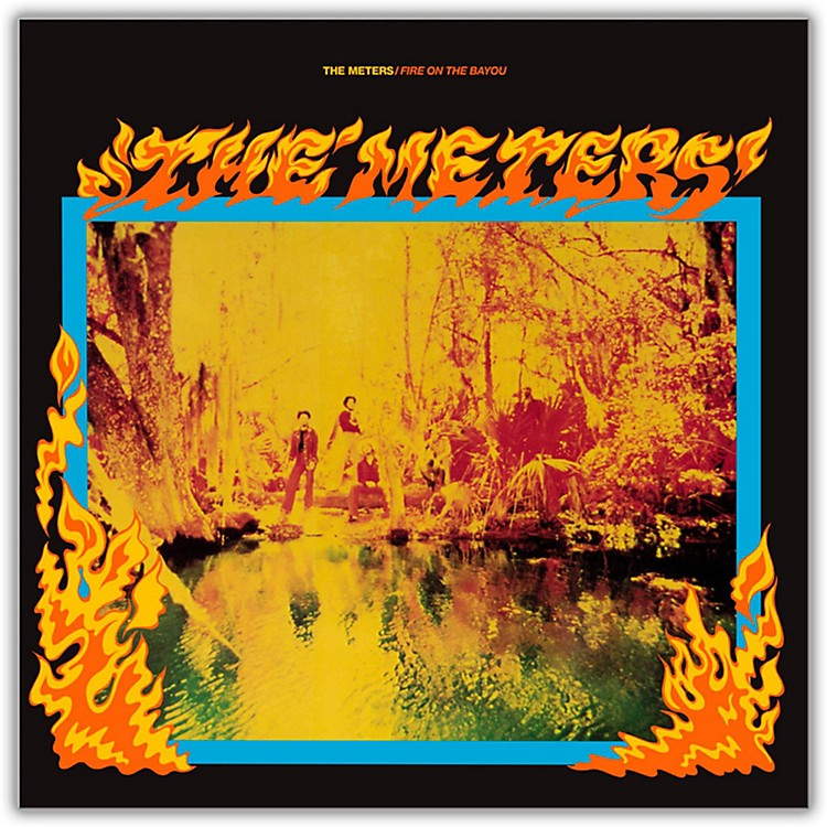 WEA The Meters - Fire On the Bayou Vinyl LP