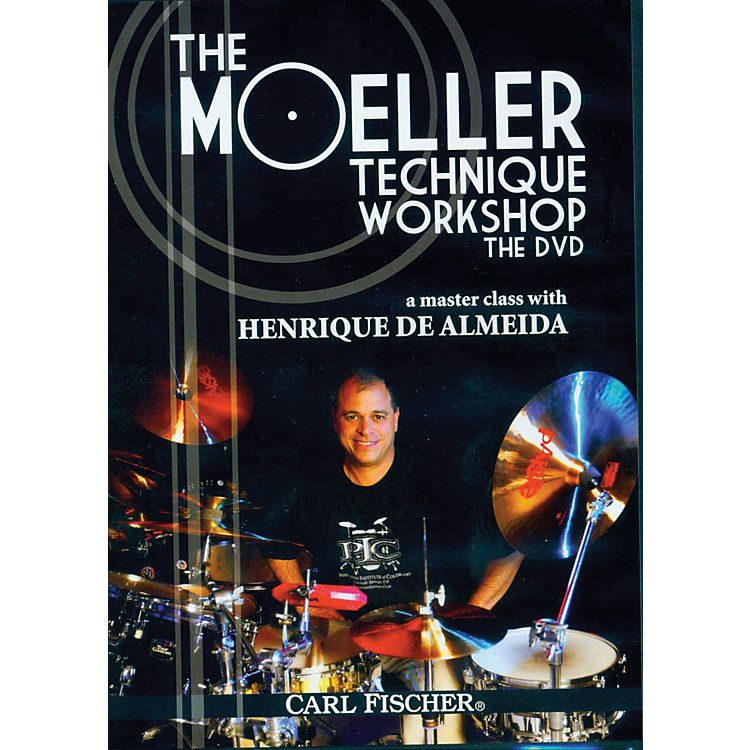 Carl Fischer The Moeller Technique Workshop DVD