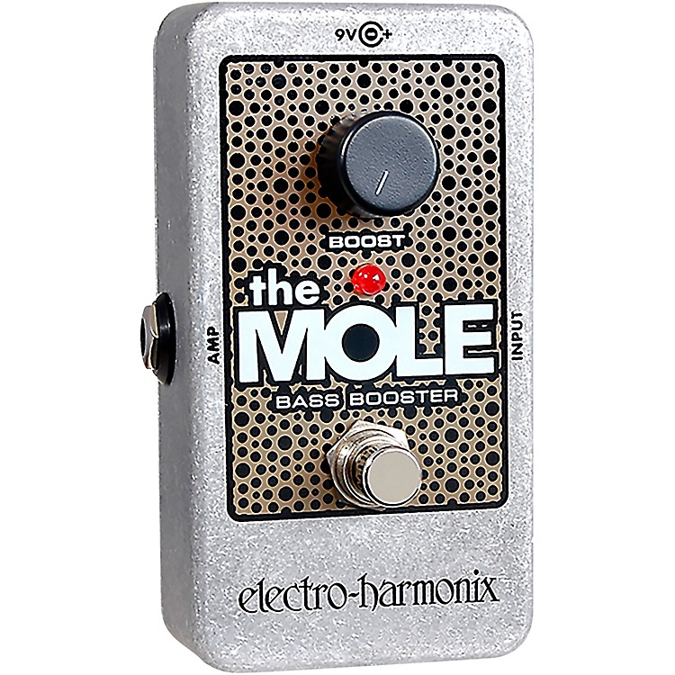 Electro-HarmonixThe Mole Bass Booster Effects Pedal