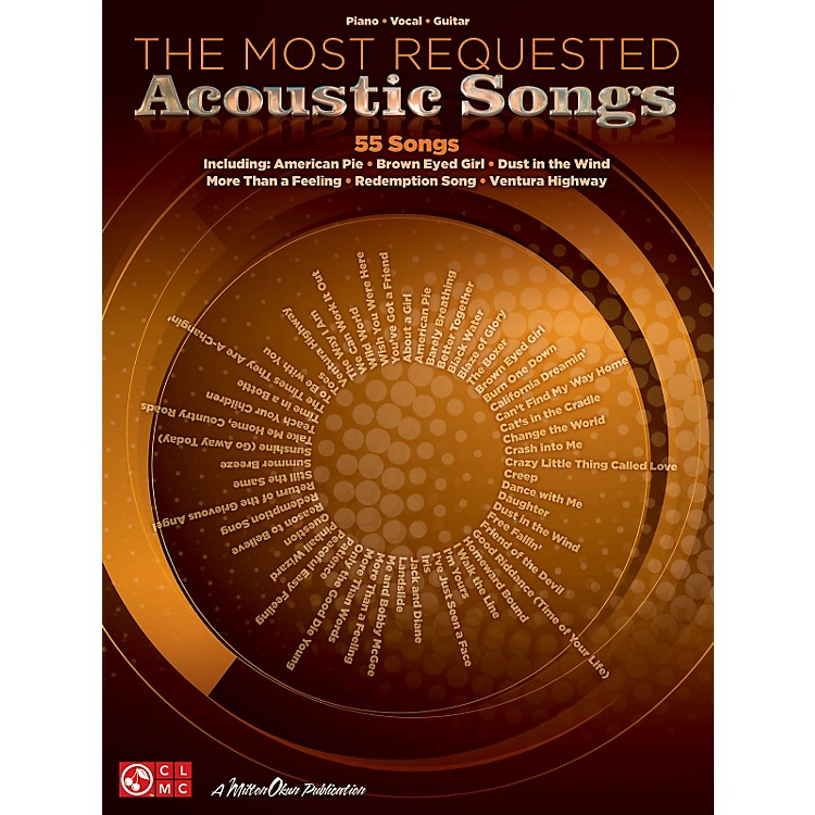 Cherry LaneThe Most Requested Acoustic Songs P/V/G Songbook