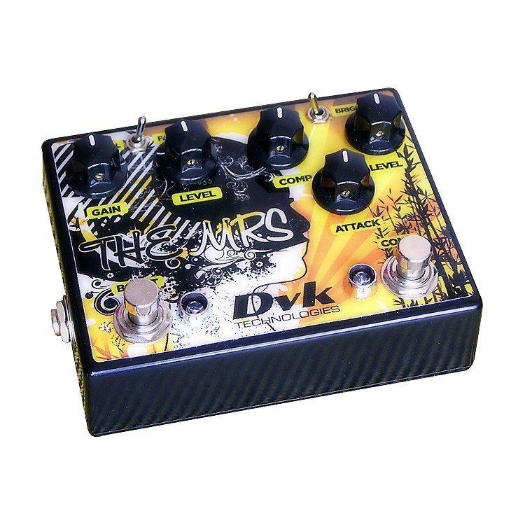 DVKThe Mrs. Compressor and Boost Guitar Effects Pedal