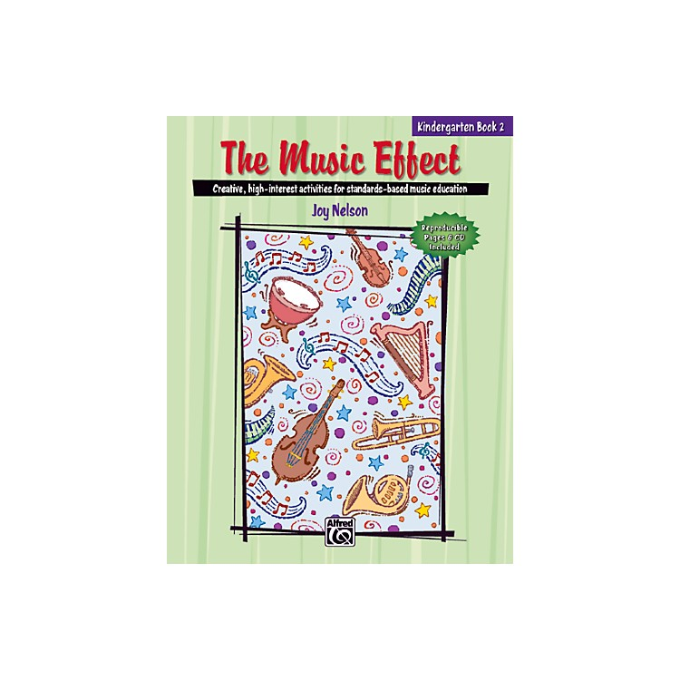 AlfredThe Music Effect 2 Book & CD