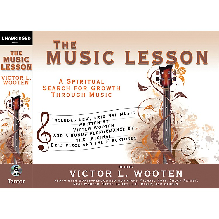AlfredThe Music Lesson by Victor Wooten Audio Book Version - 6 CDs