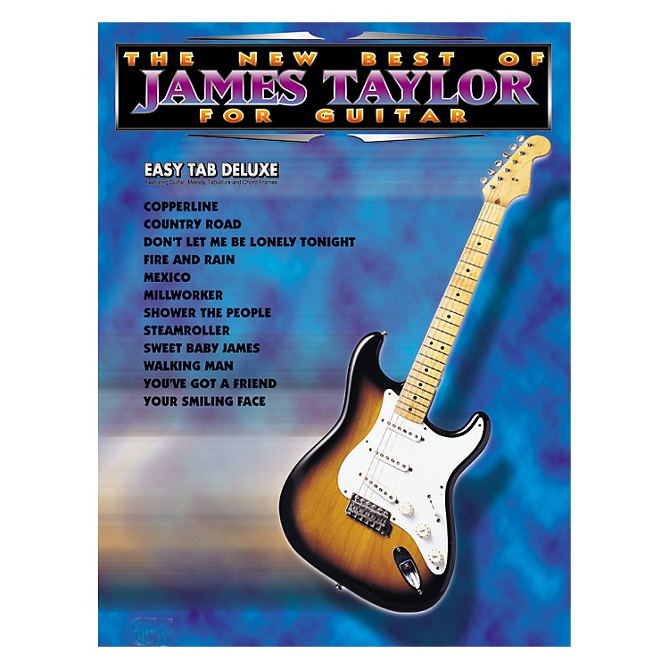 Alfred The New Best of James Taylor for Guitar Tab Book