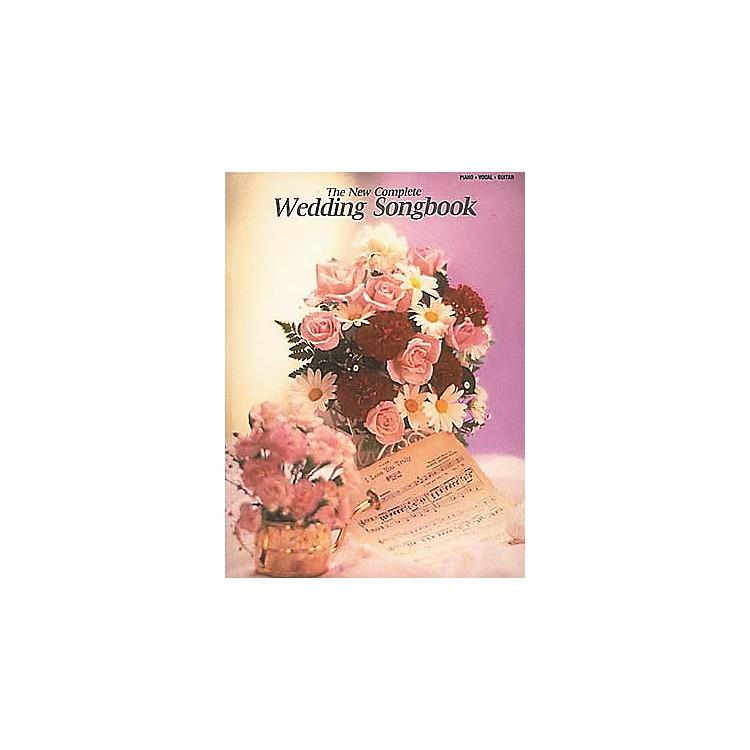 Hal LeonardThe New Complete Wedding Piano, Vocal, Guitar Songbook