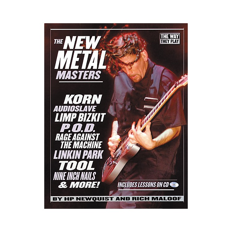 Backbeat BooksThe New Metal Masters (Book/CD)