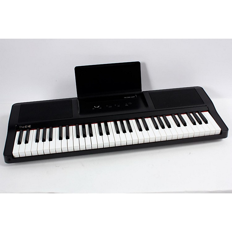 The ONE Music Group The ONE Smart Piano 61-Key Portable Keyboard Black 888365655222