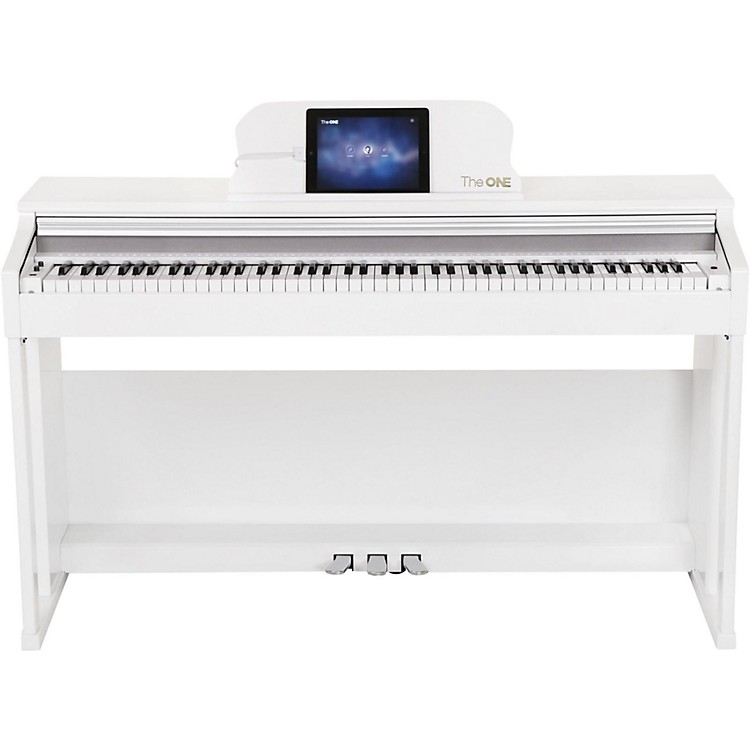 The ONE Music Group The ONE Smart Piano 88-Key Digital Home Piano White