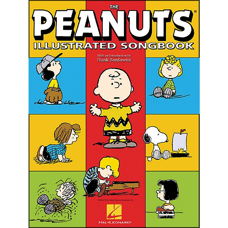 Hal Leonard The Peanuts Illustrated Songbook arranged for piano solo