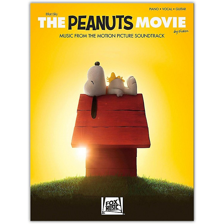 Hal LeonardThe Peanuts Movie - Music from the Motion Picture Soundtrack  Piano/Vocal/Guitar Songbook