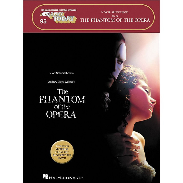 Hal Leonard The Phantom Of The Opera Movie Selections E-Z Play 95