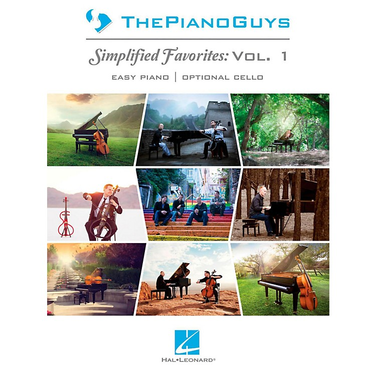 Hal Leonard The Piano Guys  Simplified Favorites, Vol. 1. for Easy Piano/Cello