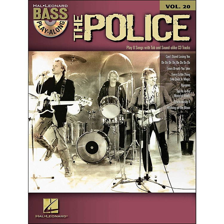 Hal Leonard The Police - Bass Play-Along Volume 20 (Book/CD)
