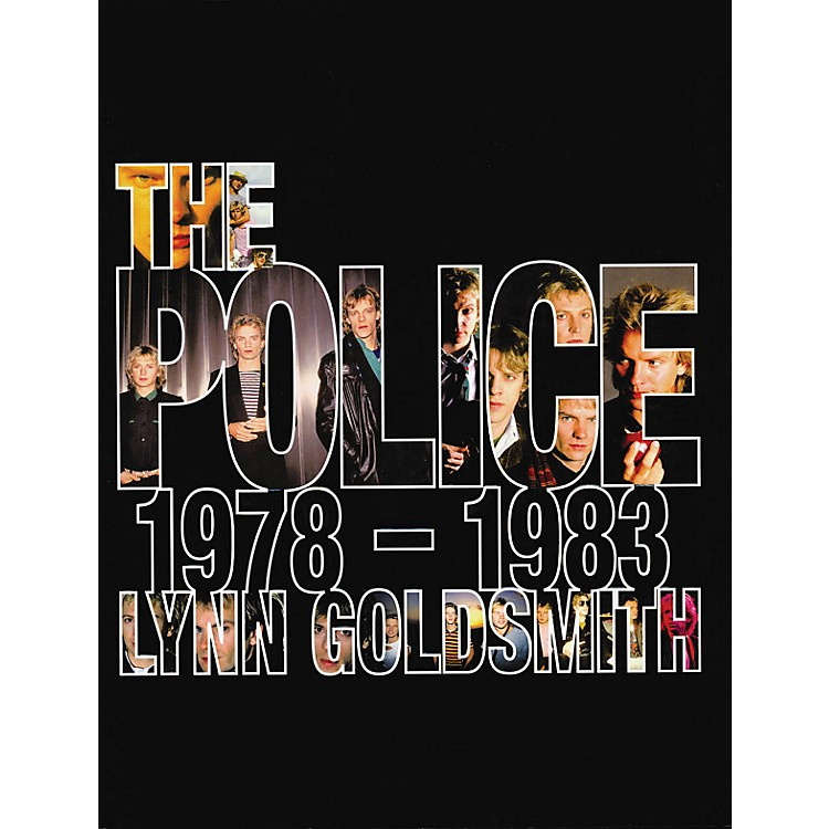 Hal Leonard The Police 1978-1983 hard cover book by Lynn Goldsmith