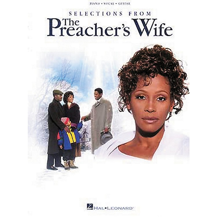 Hal Leonard The Preacher's Wife Piano, Vocal, Guitar Songbook