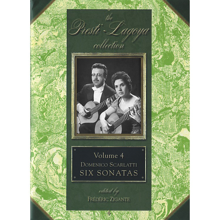 Carl FischerThe Presti-Lagoya Collection Volume 4 Book