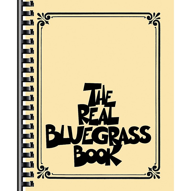 Hal Leonard The Real Bluegrass Book - Fake Book